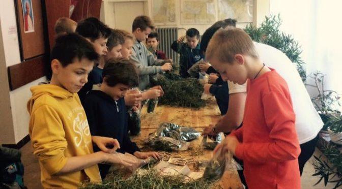 Pakowanie sianka – zbiórka ministrancka