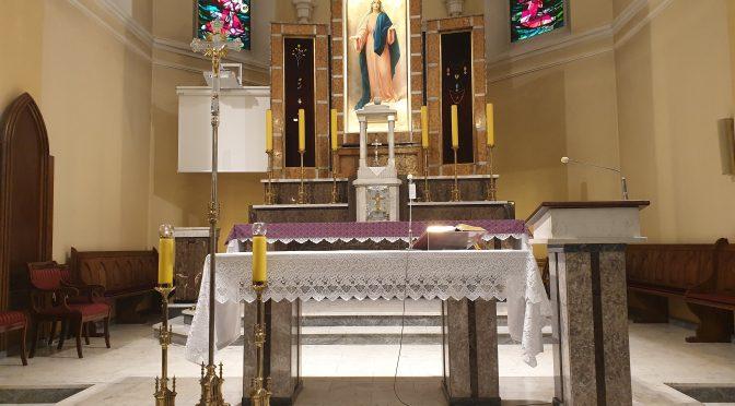 Transmisja nabożeństw w parafii Zerzeń